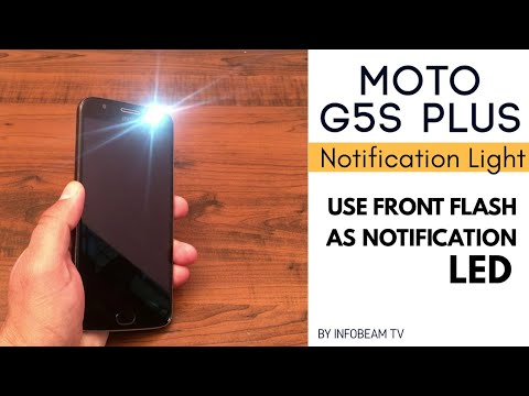 Moto G5S Plus Led Notification Light | How to Enable Notification Light on Moto G5S Plus