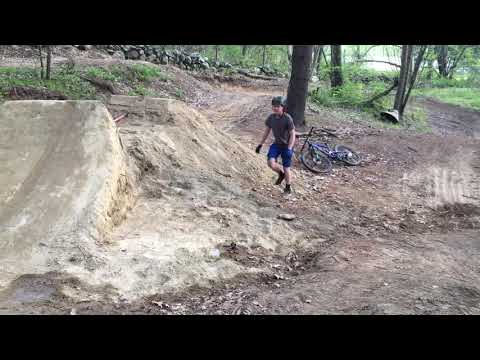 Backyard Mountain Bike Jump
