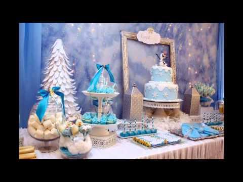 Creative Winter wonderland birthday party