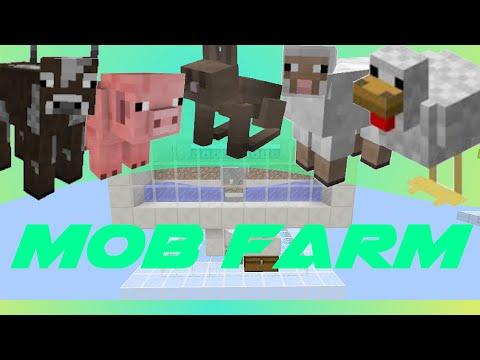 Minecraft: Mob farm with Spawner 1.8