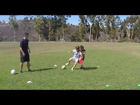 Shielding the Soccer Ball Drills