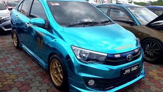 Perodua Bezza warna Biru Metalik yang Cun Sungguh