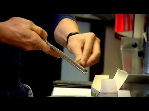 Eels in breadcrumbs - Gordon Ramsay