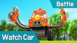 [Watch car Battle Scene7] Bluewill, Avan, Poti, Sona VS Shadow Car-Tong