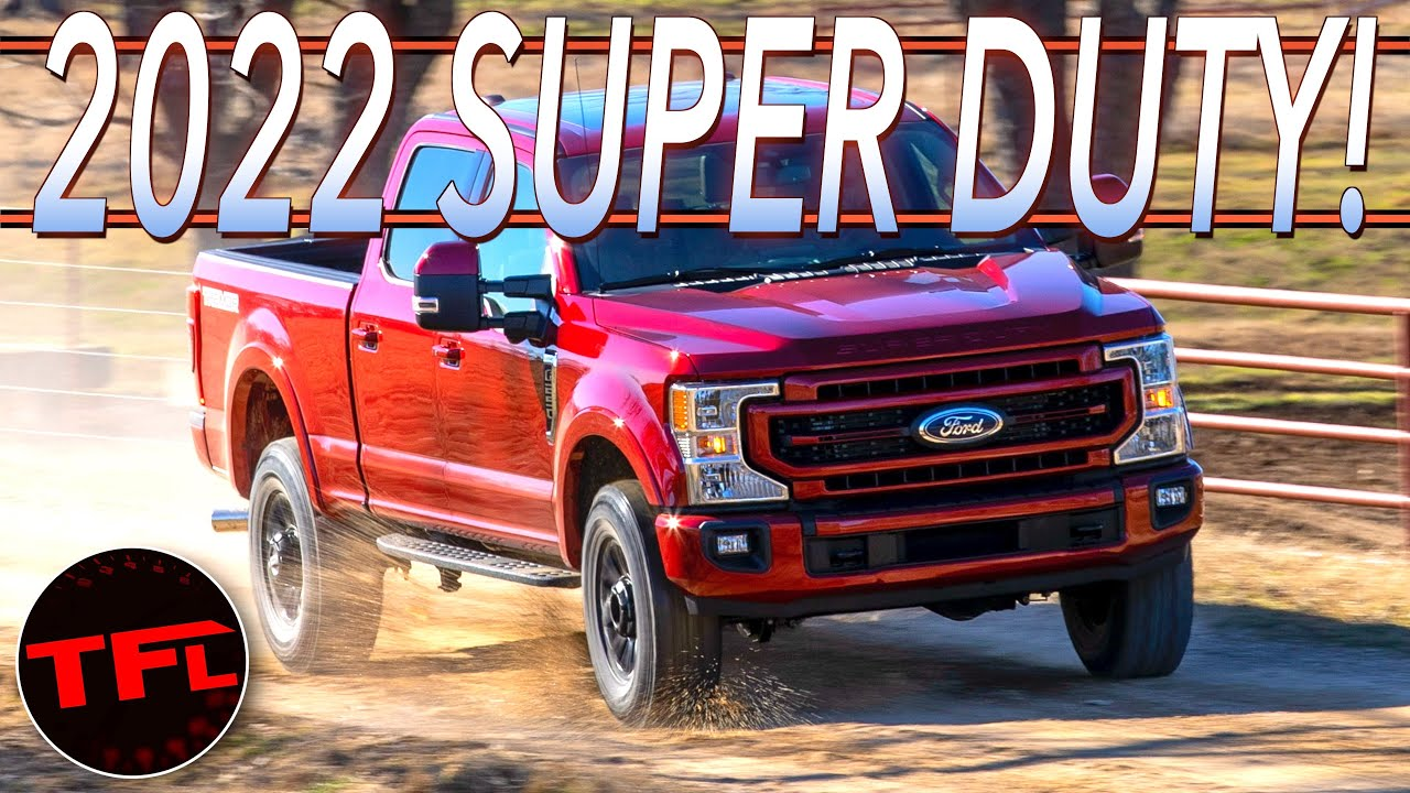 Breaking News: Here's Everything That's New (And Not) About The 2022 Ford F-250 Super Duty!