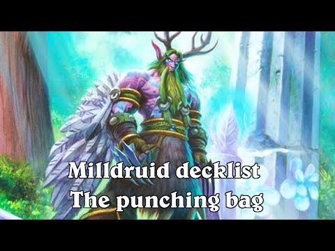 hearthstone mill druid deck list (The punching bag)
