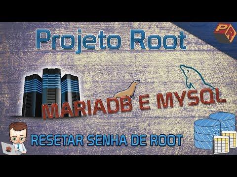 Reset de Senha Root Mysql/MariaDB