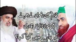 Ilyas Qadri Say Sawal Abot Islamabad Dharna (Important Video)