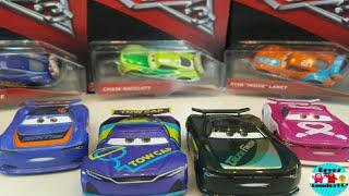 Cars 3 Diecast Next Generation Racers 4 Pack J D Mcpillar