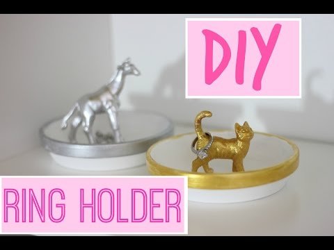 How to make a ring holder | DIY