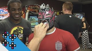 Kalisto suffers Flash Bang Hot Sauce punishment — UpUpDownDown