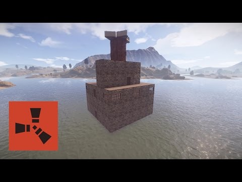 Rust Builds: Water Base Tutorial