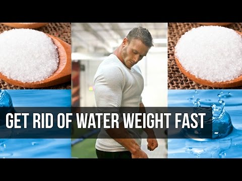How to reduce water retention due to steroids -