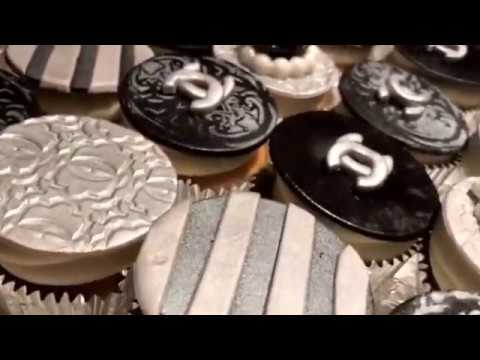 #Chanel #Chanelcupcakes #Cakebossofchester #Fondant cupcakes
