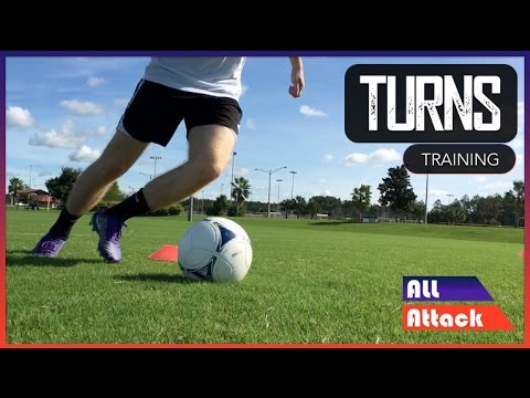 How to Improve Your Turns | Football Training