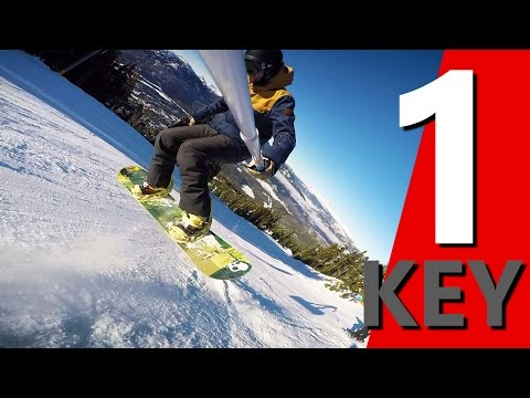 The 1 Key for Learning Snowboarding Tricks
