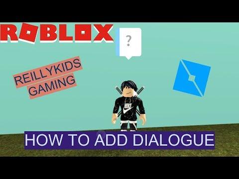 HOW TO ADD DIALOGUE ( TALKING NPCS ) | ROBLOX STUDIO TUTORIAL