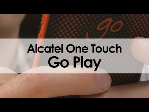 Alcatel One Touch Go Play: Unboxing y primeras impresiones