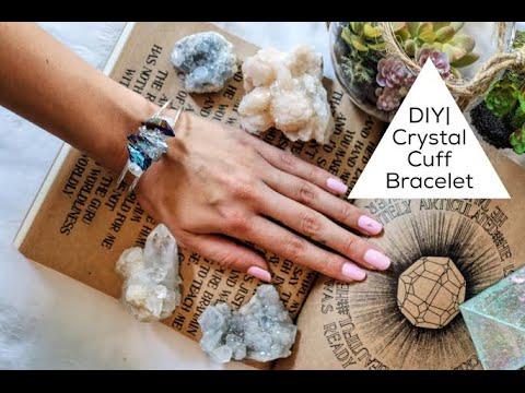 DIY| Crystal Cuff Bracelet