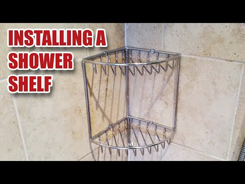Shower Shelf Install / Replacement - Gosforth Handyman [8]