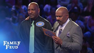 Can THIS ANSWER get Gary the points he needs for $20,000? | Family Feud