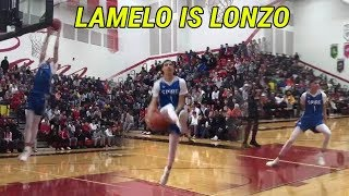 LaMelo Ball Looks UNREAL At Spire! Throwing DIMES & DUNKING Like Lonzo!! Rocket Watts Is NICE 🔥