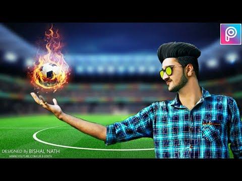 Football Photo Editing in Picsart    Fifa Would Cup Pics Edits    Manipulation Editing Picsart