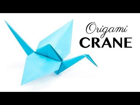 Origami Crane Tutorial - Tsuru - Paper Kawaii