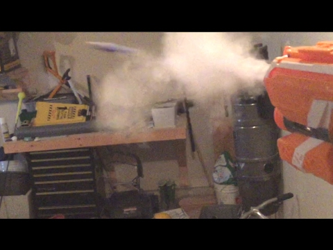 DIY How To Make A Smoke Trail For Your Nerf Bullet/Dart!