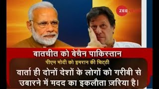 Imran Khan writes to PM Modi, offers talks to resolve Kashmir issue