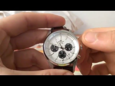 How to set date correctly - Casio Edifice