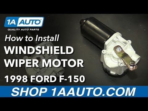 How to Install Replace Windshield Wiper Motor 1997-2003 Ford F-150