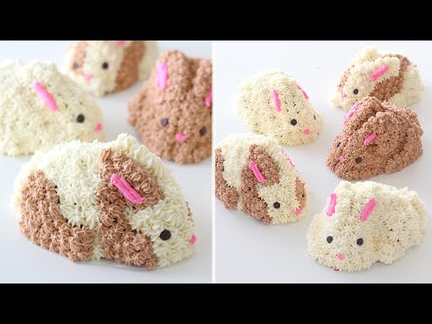 Easter Bunny Cakes Recipe