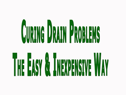 How to Cure Common Plumbing Problems