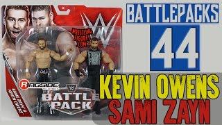 WWE FIGURE INSIDER: Kevin Owens & Sami Zayn - WWE Battle Pack Series 44 Figures By Mattel