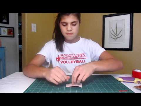 How to make duct tape candy wrapper bows