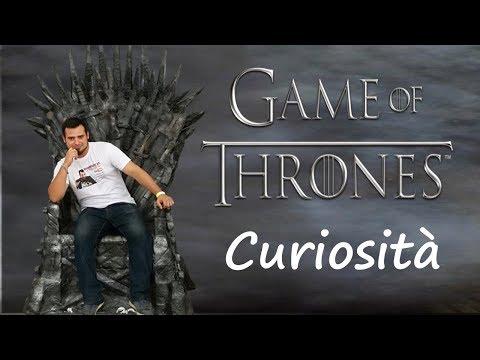 Game Of Trones Curiosità