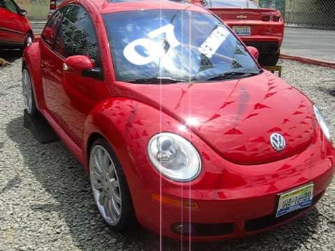 2007 Volkswagen Beetle Rojo Tisnados Automotriz