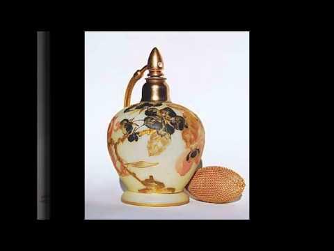 Vintage style perfume bottles