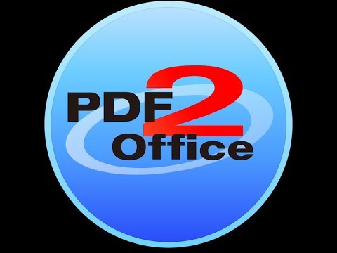 How to Convert PDF to Microsoft Office - Word, Excel & PPT on Mac using PDF2Office 2017