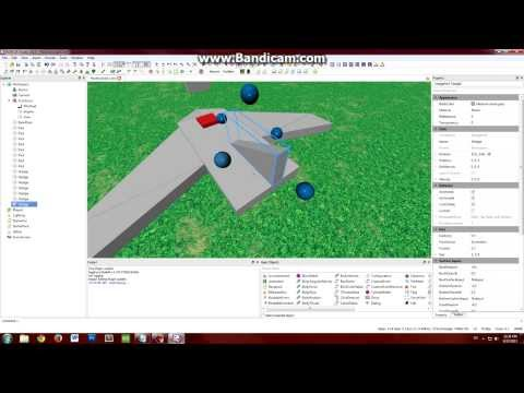 ROBLOX Tutorial: Creating A Plane (Part 1)