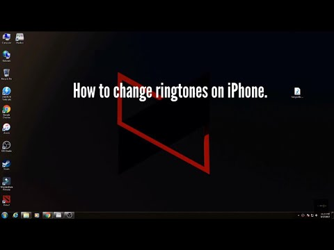 How to change ringtone on an iPhone.