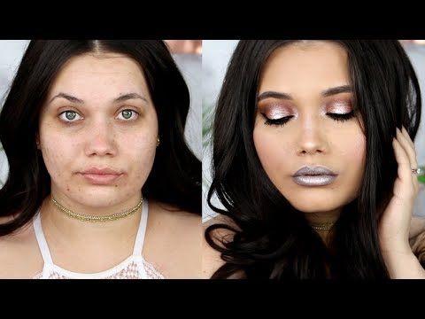 MUSIC FESTIVAL Makeup Tutorial Transformation