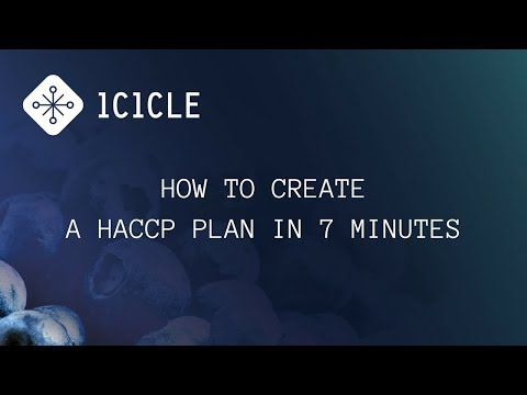 How to Create a HACCP Plan in 7 Minutes