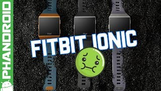 Fitbit's first smartwatch is expensive and ugly