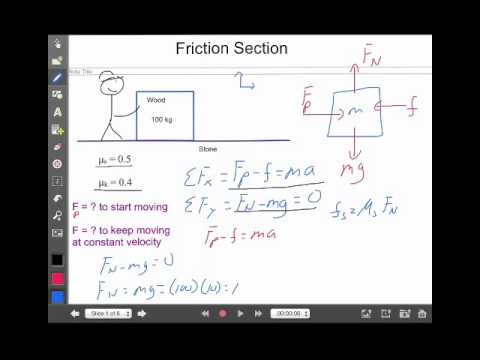 Friction Lecture 1