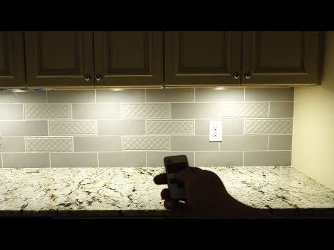 Aiboo Plug LED Under Cabinet Puck Lights Installation and Review