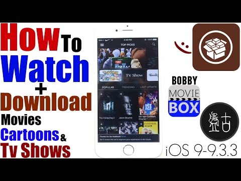 iOS 9.3.3/9.3/9.3.2:How To Install (BOBBY MOVIE BOX) |Watch+Download FREE Movies,Cartoons & TV Shows
