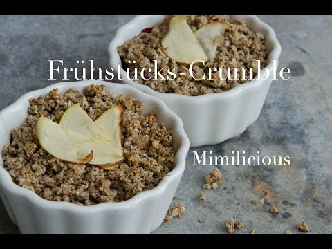 Frühstücks-Crumble -bestes Frühstück!-