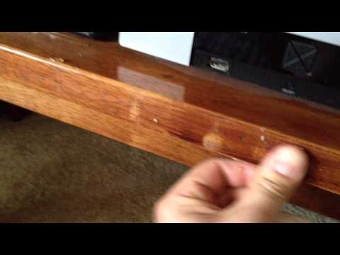 HOW TO:  QUICKLY Repair Scratches in Varnished Wood